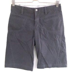 Athleta Dipper Bermudas hiking shorts Wmn size 2